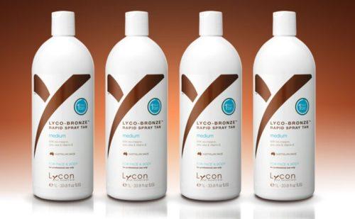 LYCON lyco-bronze tanning spray